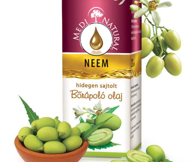 A Neem olaj használata a tiniknek is kedvez