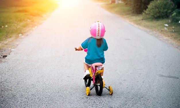 Gyerek kerékpár ajándékba